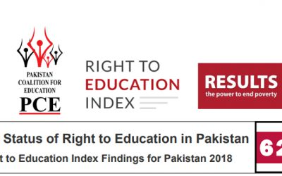 Right to Education Index – Pakistan Country Brief 2018.